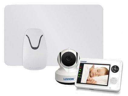 Videochůvička Luvion ESSENTIAL 3,5 s monitorem dechu Babysense I Pro