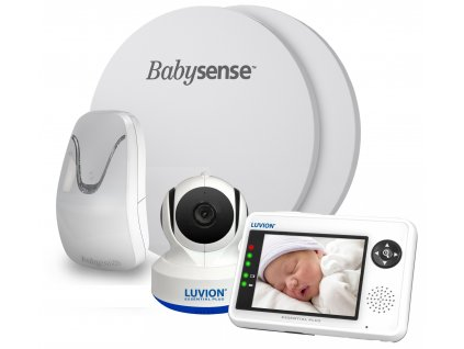 Videochůvička Luvion® ESSENTIAL PLUS 3,5 s monitorem dechu BABYSENSE 7