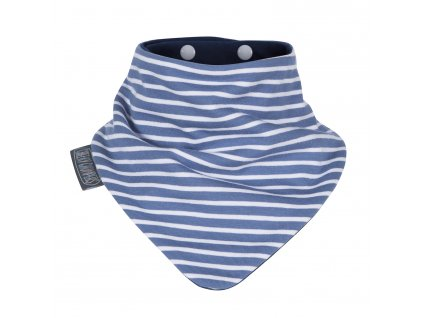 Slintáček Neckerbib Blue stripes