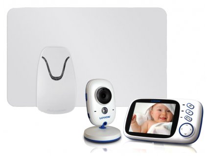 Videochůvička Luvion Platinum 3 s monitorem dechu Babysense I Pro