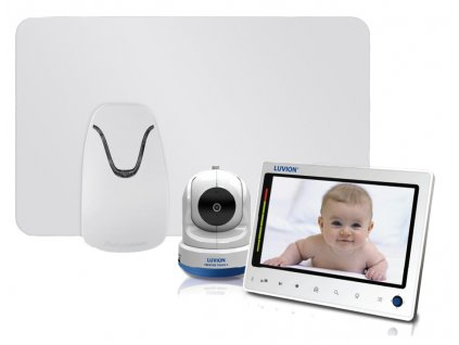 Videochůvička PRESTIGE TOUCH 2 s monitorem dechu Babysense I Pro
