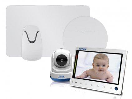 Videochůvička Luvion PRESTIGE TOUCH 2 s monitorem dechu Babysense II Pro