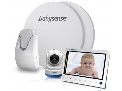 Videochůvička Luvion PRESTIGE TOUCH 2 s monitorem dechu BABYSENSE 7