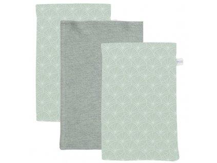 0009078 washand lily leaves mint set van 3