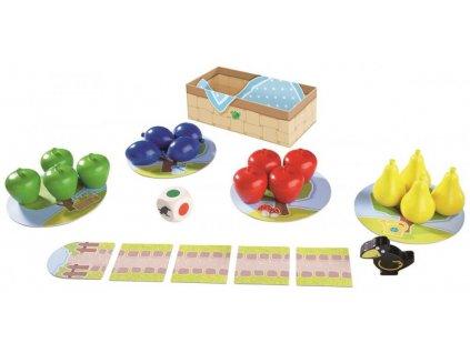 3177 Spolocenska hra Ovocny sad farby tvary druh ovocia Haba od 2 rokov a
