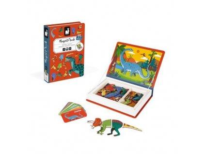 magneticka kniha dinosaury janod J02590 02 500x500