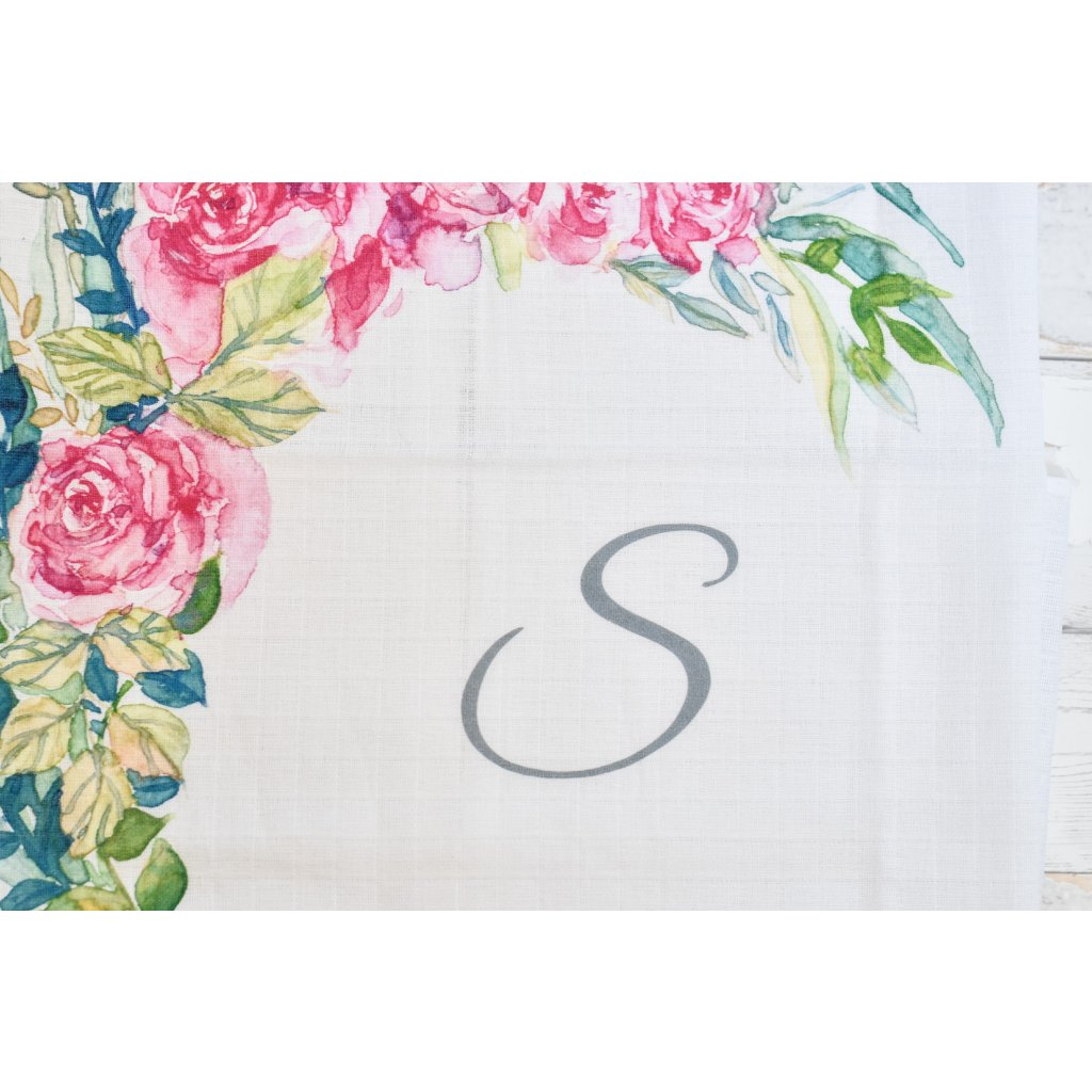 Květiny - monogram S
