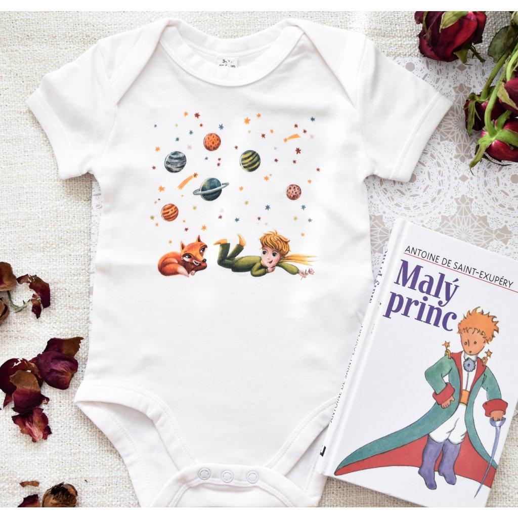 Dětské body s krátkým rukávem Malý Princ vel. 6-12