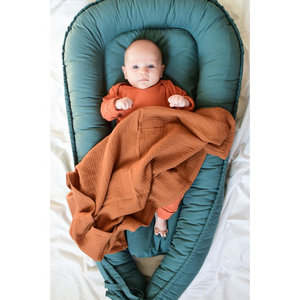 Set pro miminko Cihlový
