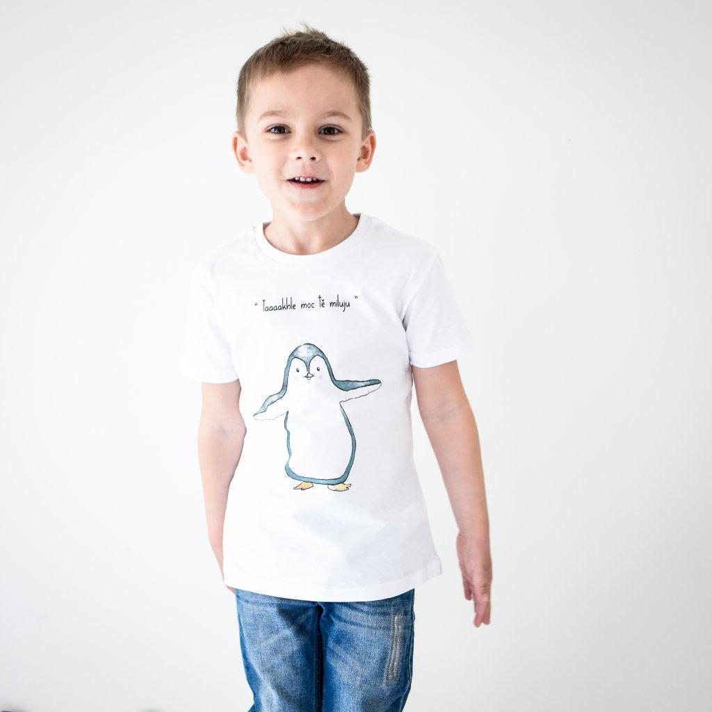 Dětské tričko Moře lásky