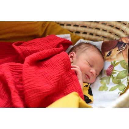Bonding deka mušelín