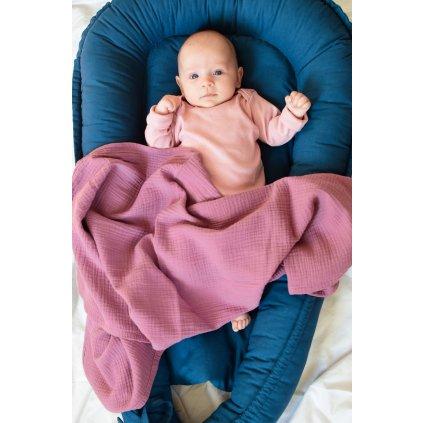 Set pro miminko Růžový mamapocket