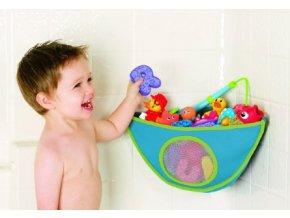 dětská kapsa na hračky do koupelny (Barva Růžová)