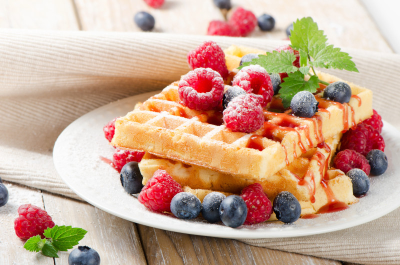 Tři recepty na snídaňové vafle, které si zamilujete