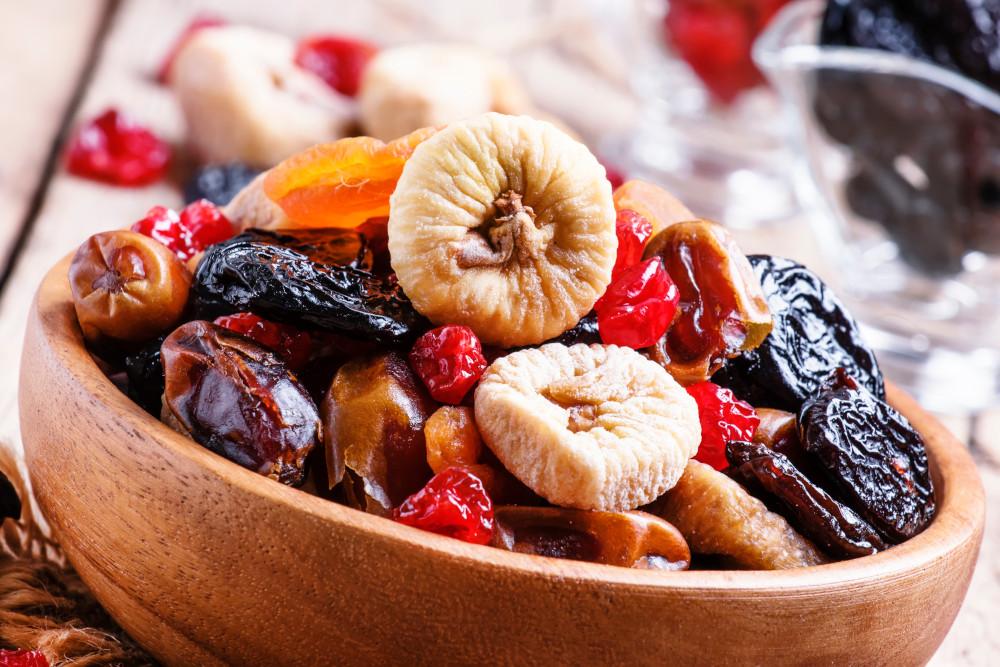 Sušené ovoce a zelenina