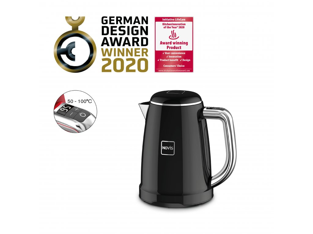 Novis Kettle KTC1 withAwards black