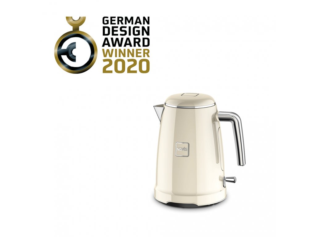 Novis Kettle K1 withAwards cream