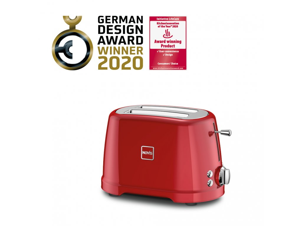 Novis Toaster T2 withAwards red