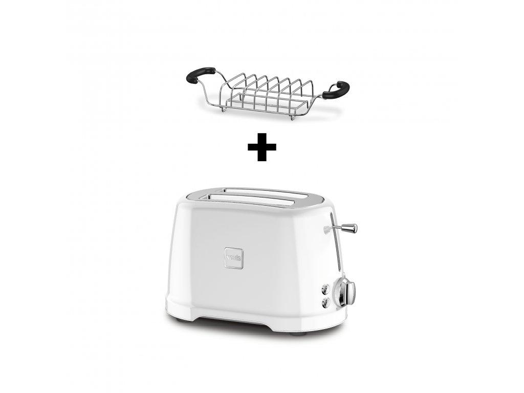 Novis ToasterT2 Brotwaermer weiss