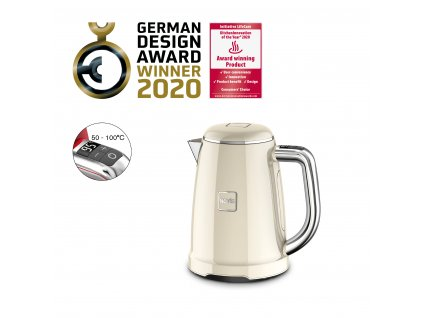 Novis Kettle KTC1 withAwards cream