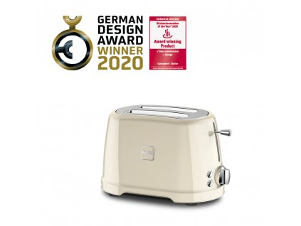Novis Toaster T2 withAwards cream