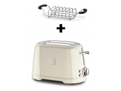 Novis ToasterT2 Brotwaermer creme
