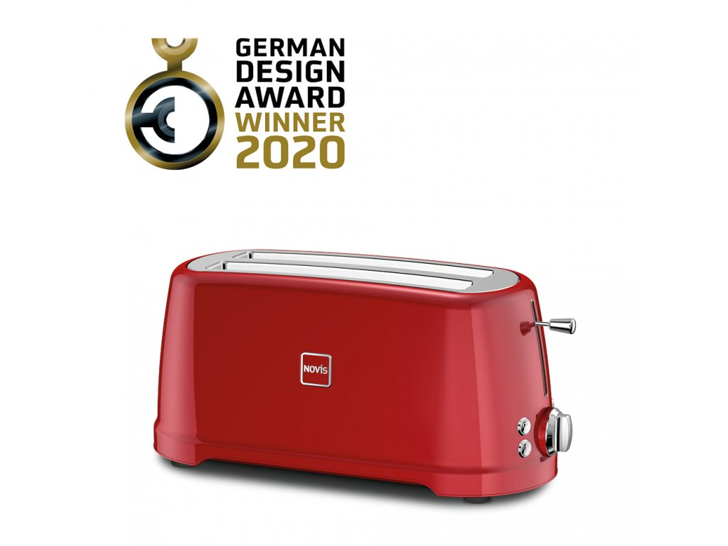 Novis Toaster T4 withAwards red