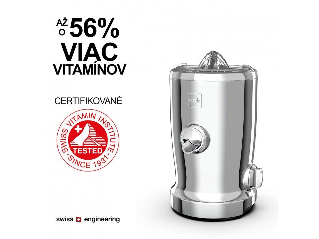 1 Novis VitaJuicerS1 56+ citrusfunction chrome SK