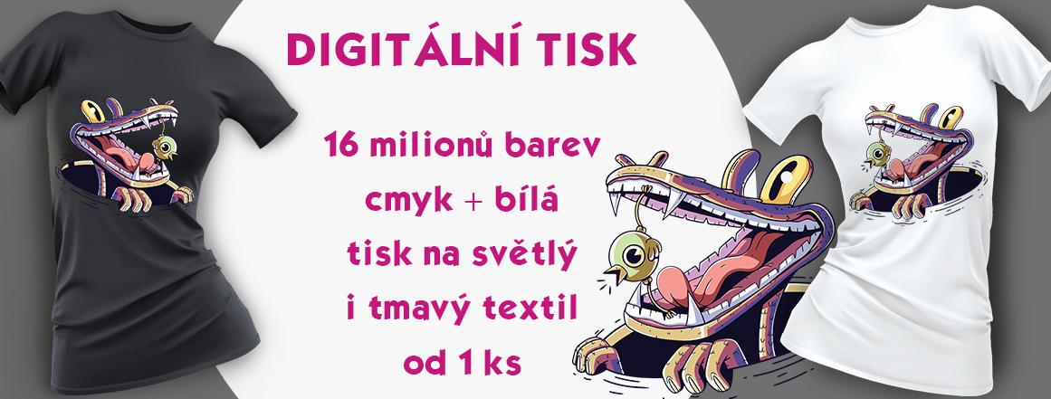 DIGITÁLNÍ POTISK TEXTILU