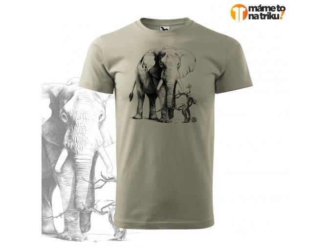 slon perokresba basic sv.khaki