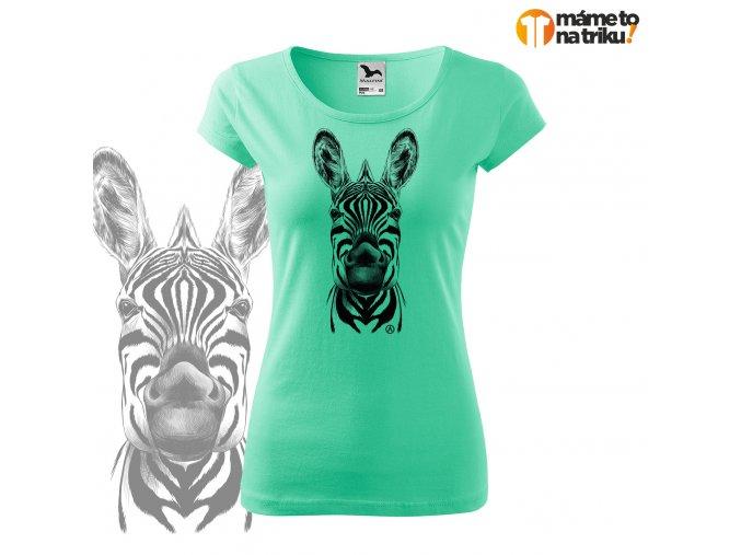 zebra perokresba pure máta