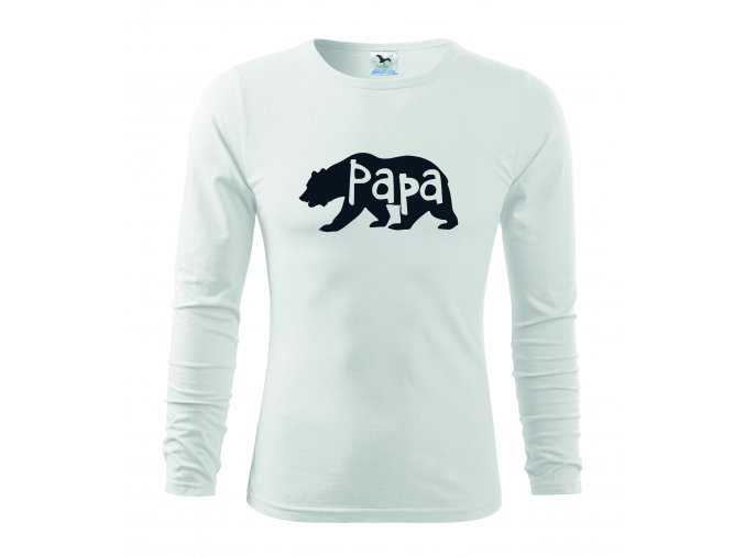 papa bear man white