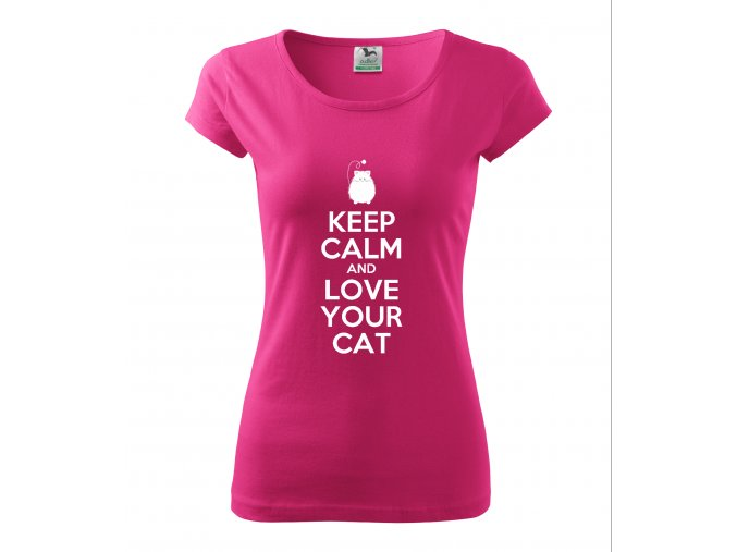 KEEP CALM AND LOVE YOUR CAT