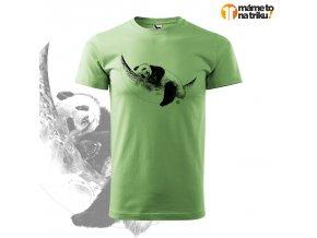 panda perokresba basic trávově zelená