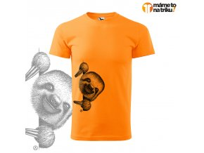 lenochod basic mandarinková