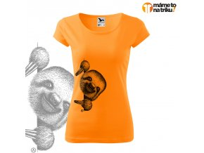lenochod pure mandarinka 2