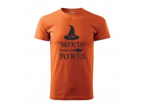 hokus pokus man orange