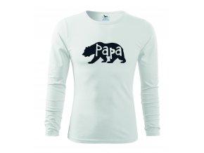 papa bear man white
