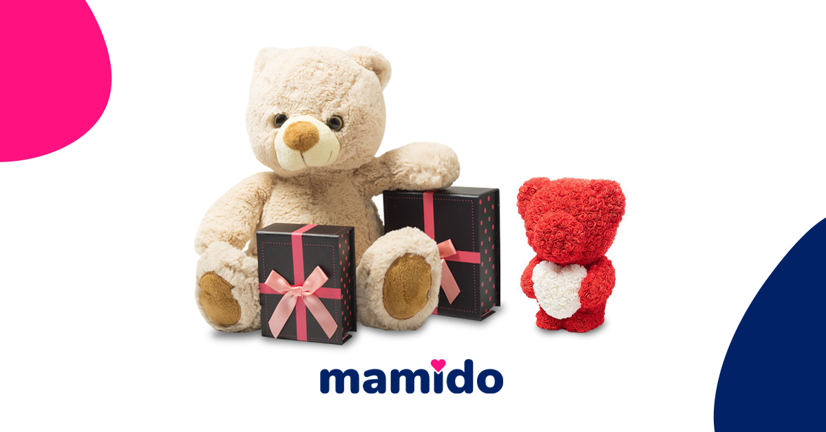 Proč je plyšový medvěd dokonalý dárek k Valentýnu?