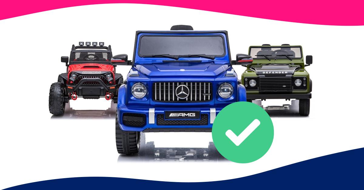 Jak vybrat dětské elektrické autíčko