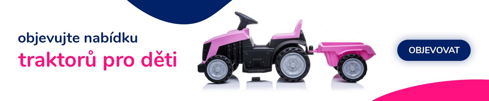 Traktory pro děti