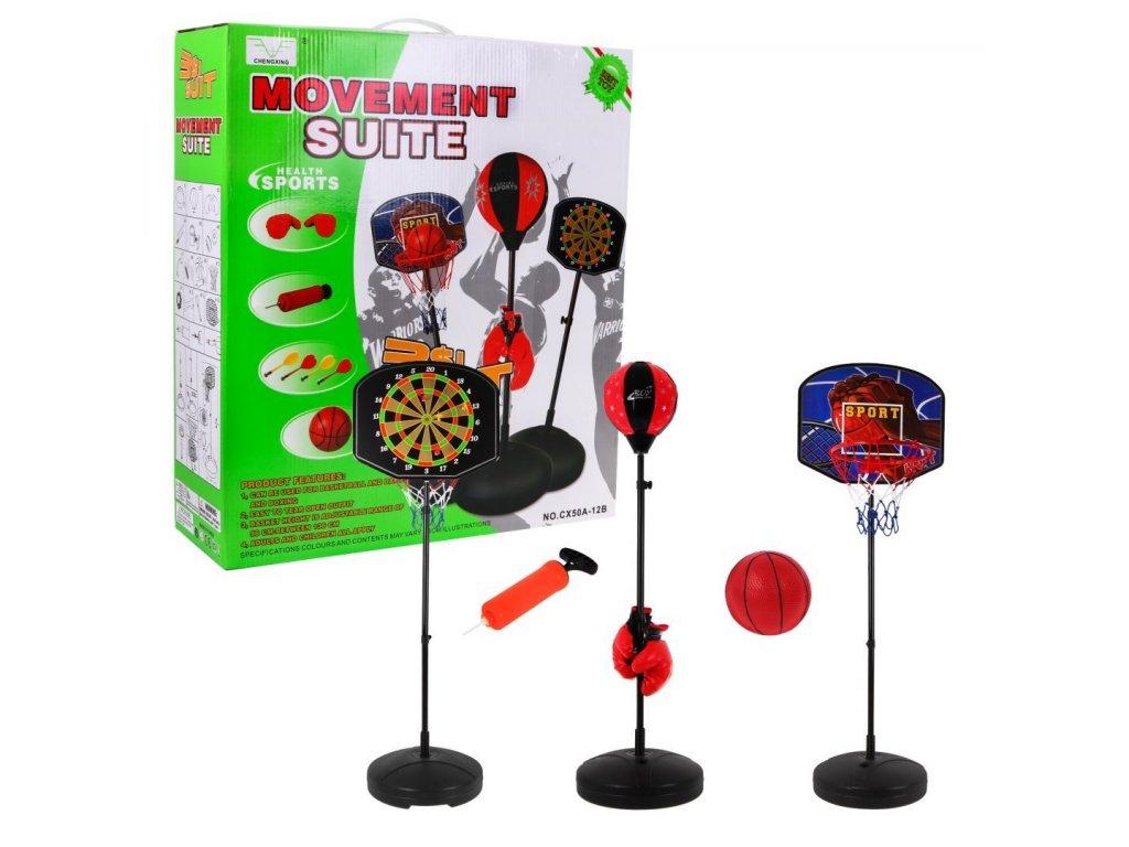 hrací koše 3v1 set 1