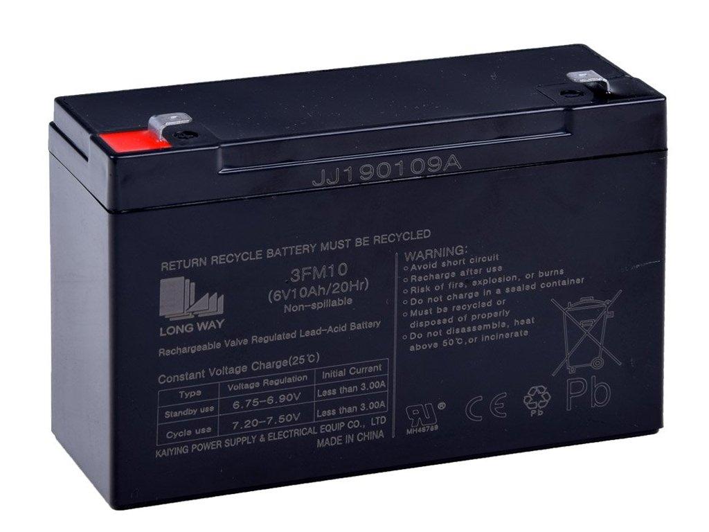 pol pl Akumulator zelowy 6V 10Ah SER042 12888 1