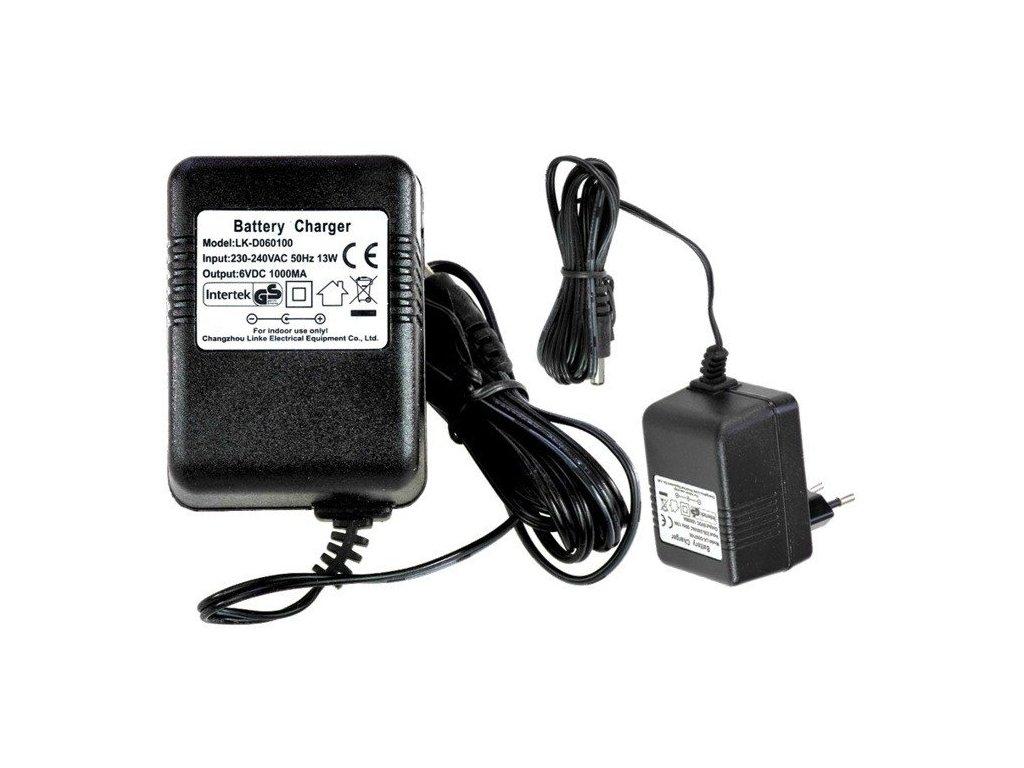 pol pl Ladowarka do Aut na Akumulator 6V 500mA z dioda LED 1252 2