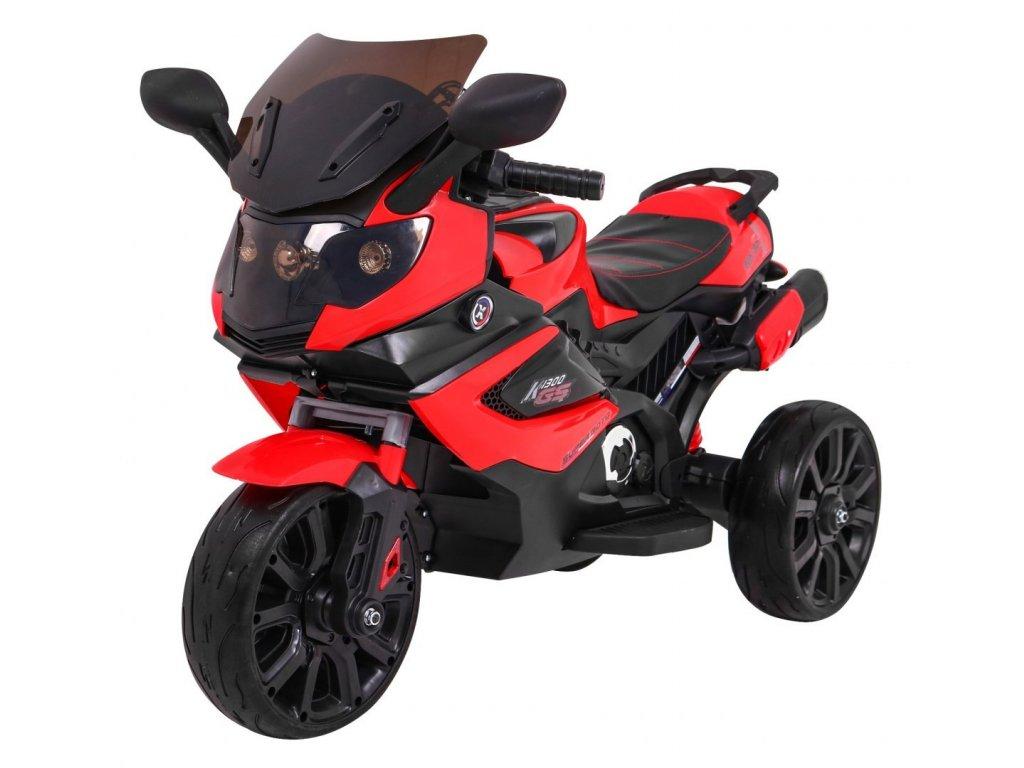 Pojazd Motorek Grand Sport Czerwony [40096] 1200