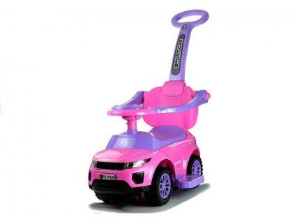 pol pl Rutschauto mit Schiebestange 614W Rosa Sport Car Auto Kinder 12M 2853 4 (1)