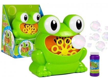 Žabička do koupele na tvoření bublin