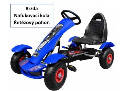 2475 detska slapaci motokara formule modra