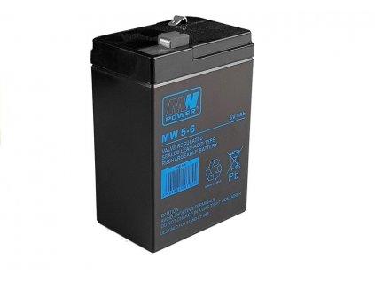 Baterie 6V 5Ah