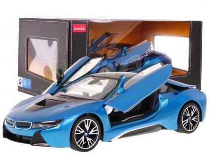 Autko RC BMW i8 Niebieski 1 14 RASTAR [15250] 1200